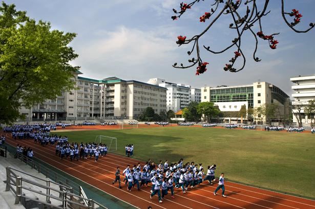 广州第六中学图片
