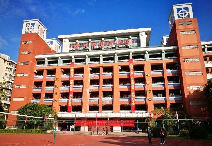 广州越秀区第三中学图片