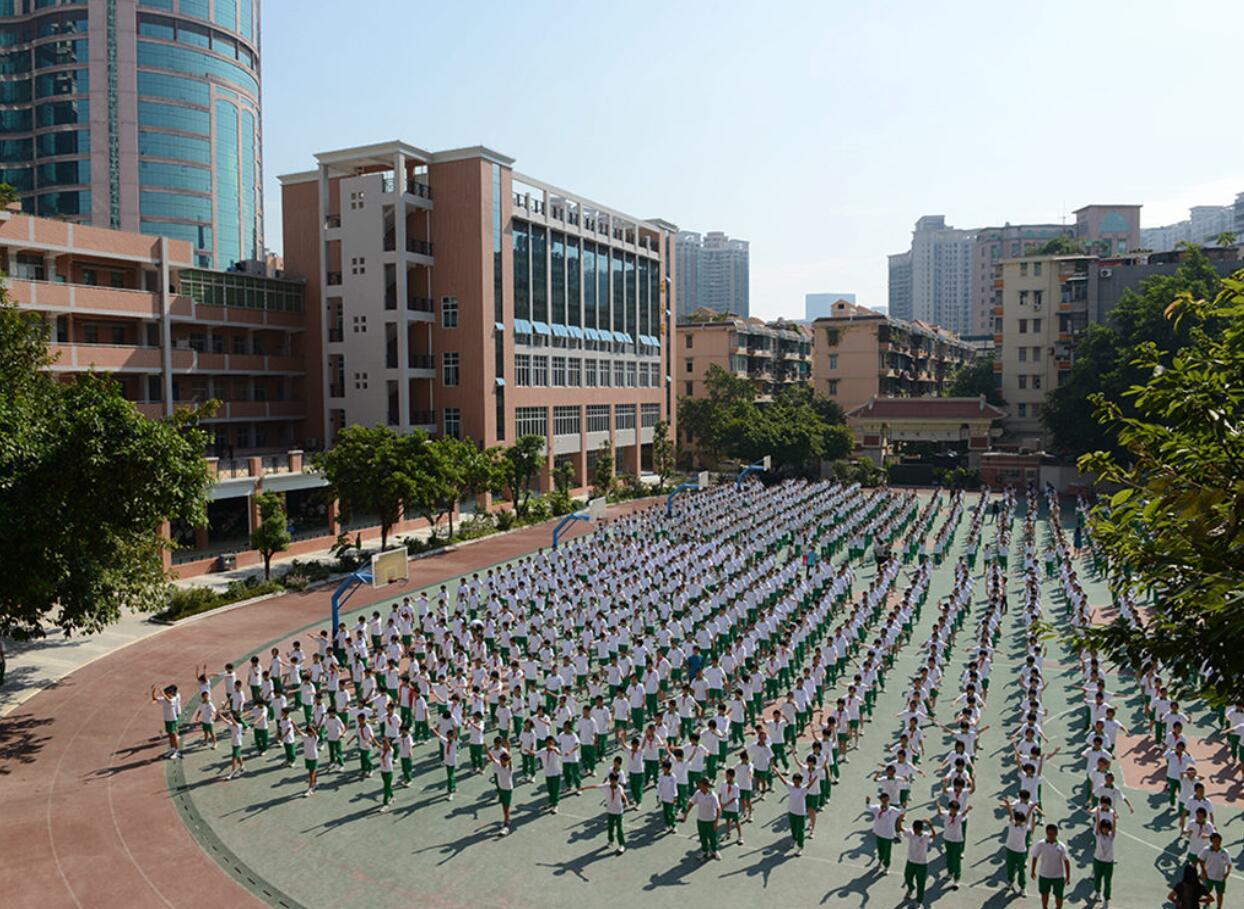 广州越秀区育才中学图片
