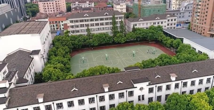 上海新华初级中学图片