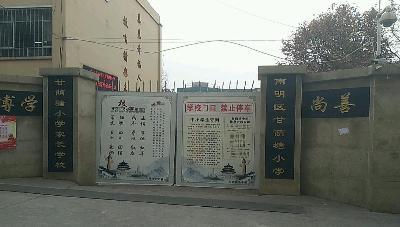 贵阳南明区甘荫塘小学图片