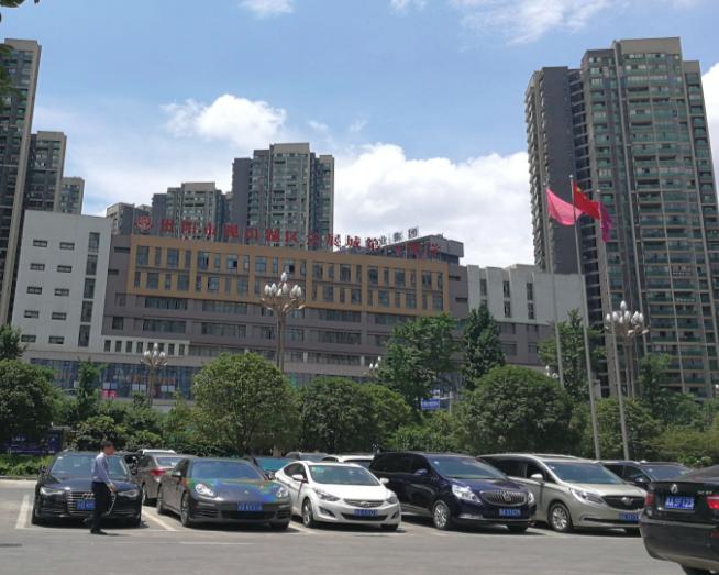 贵阳观山湖区会展城第一中学图片