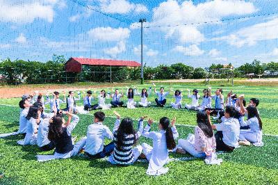 上海外国语大学闵行外国语中学图片